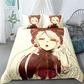 Overlord Shalltear Bedsheet and Pillowcase Set
