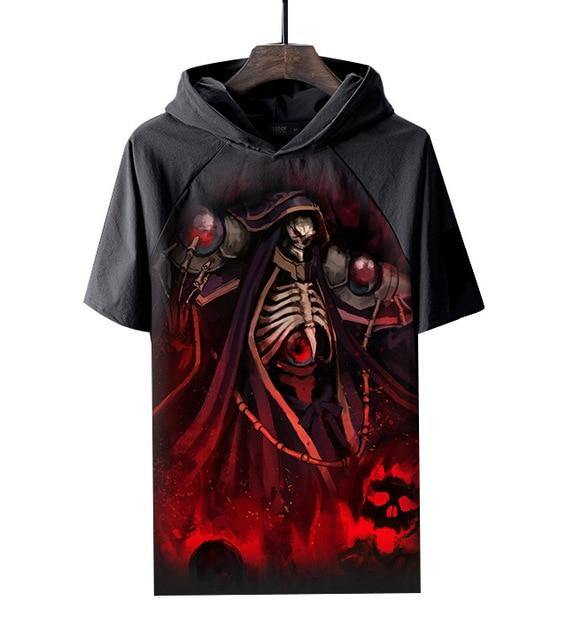 Overlord Ainz Ooal Gown Hooded T Shirt