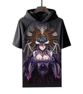 Overlord Albedo Class Hooded T Shirt