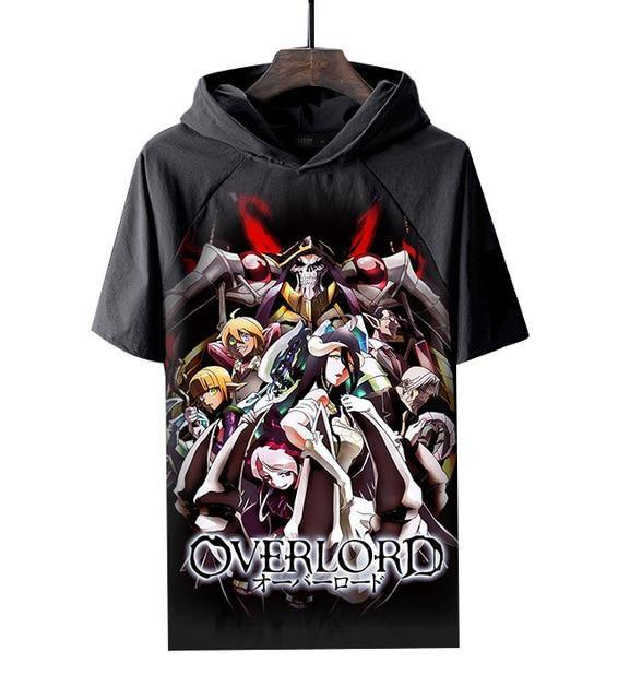 Overlord Nazarick Hooded T Shirt