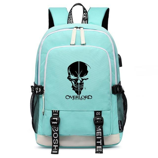 Overlord Ainz Half Face Backpack