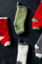 Load image into Gallery viewer, Knit Stocking Ornament