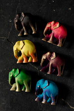 Load image into Gallery viewer, Coloured Elephants