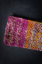 Load image into Gallery viewer, Woven Sari Clutch