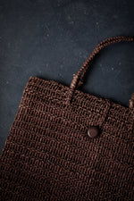 Load image into Gallery viewer, Woven Jute Tote