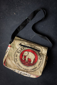 Recycled Packaging Messenger Bag