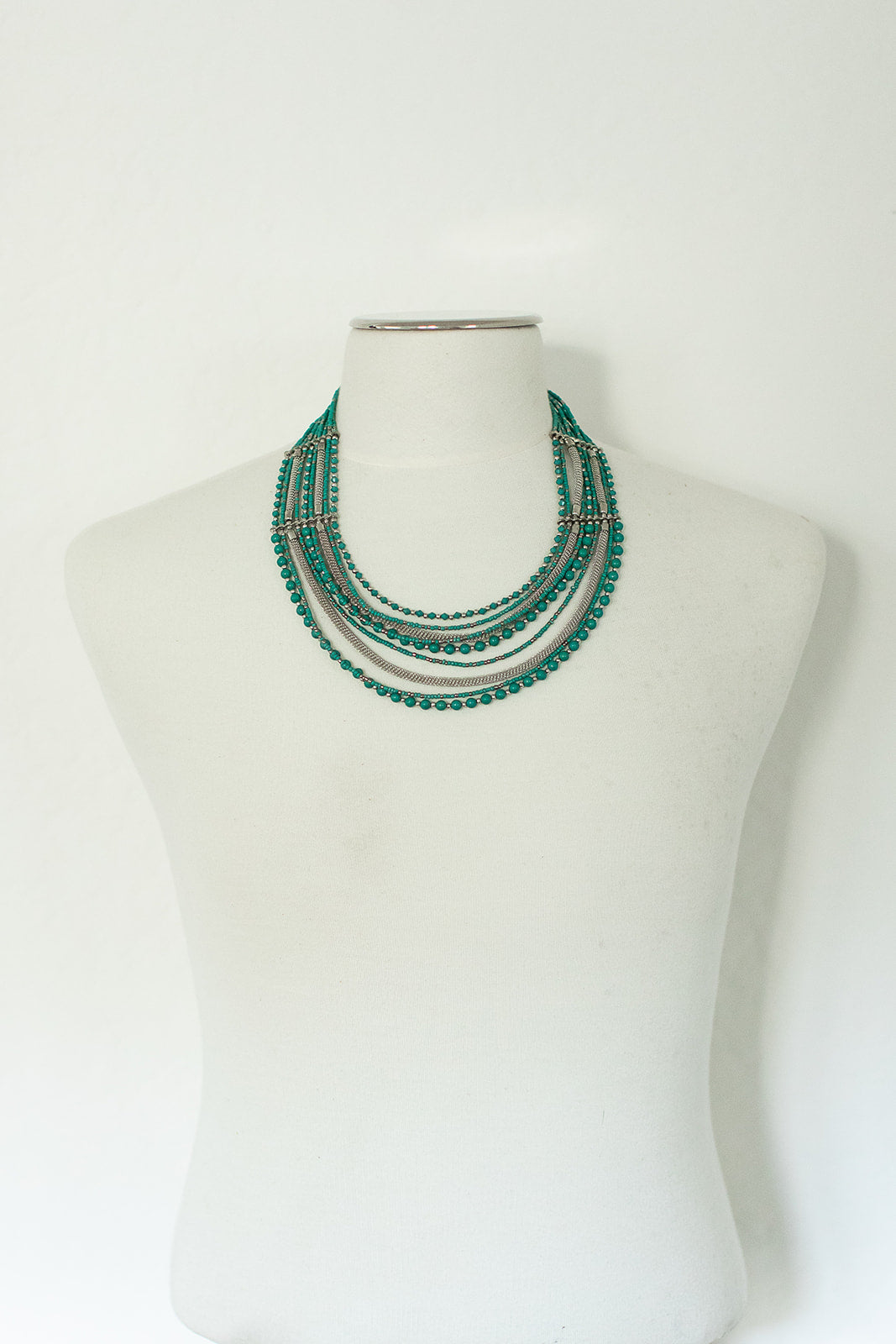 Green Layer Necklace