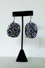 Load image into Gallery viewer, Painted Horn Earrings - Multiple Styles!