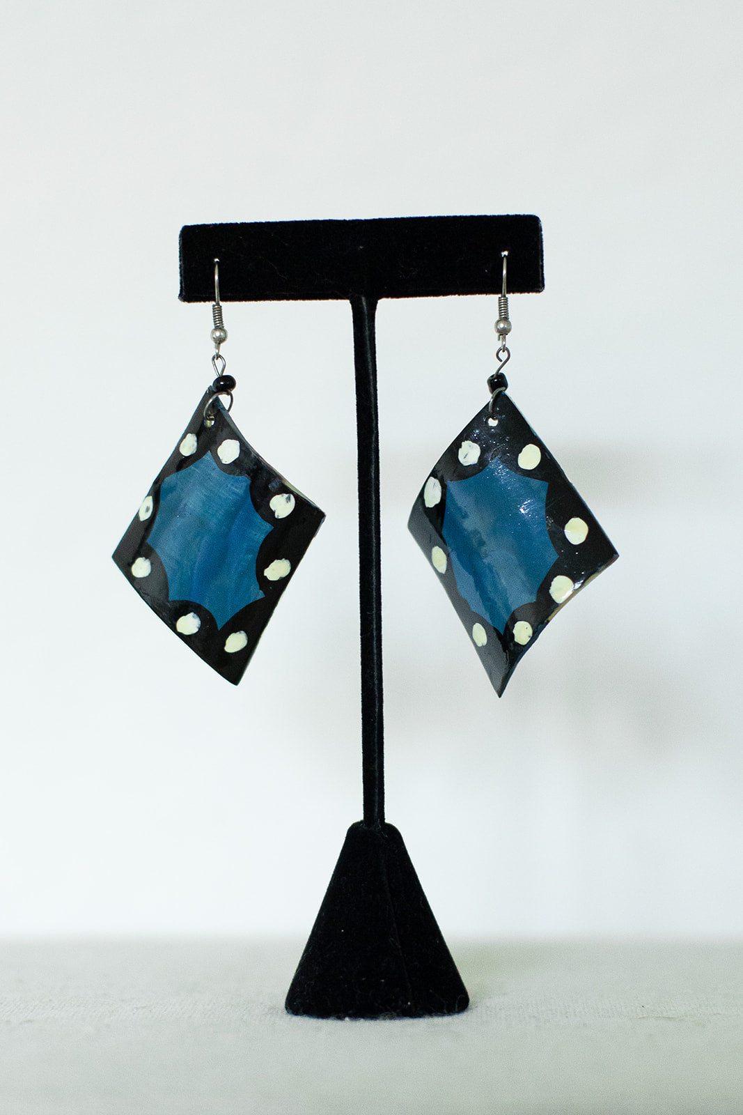 Painted Horn Earrings - Multiple Styles!