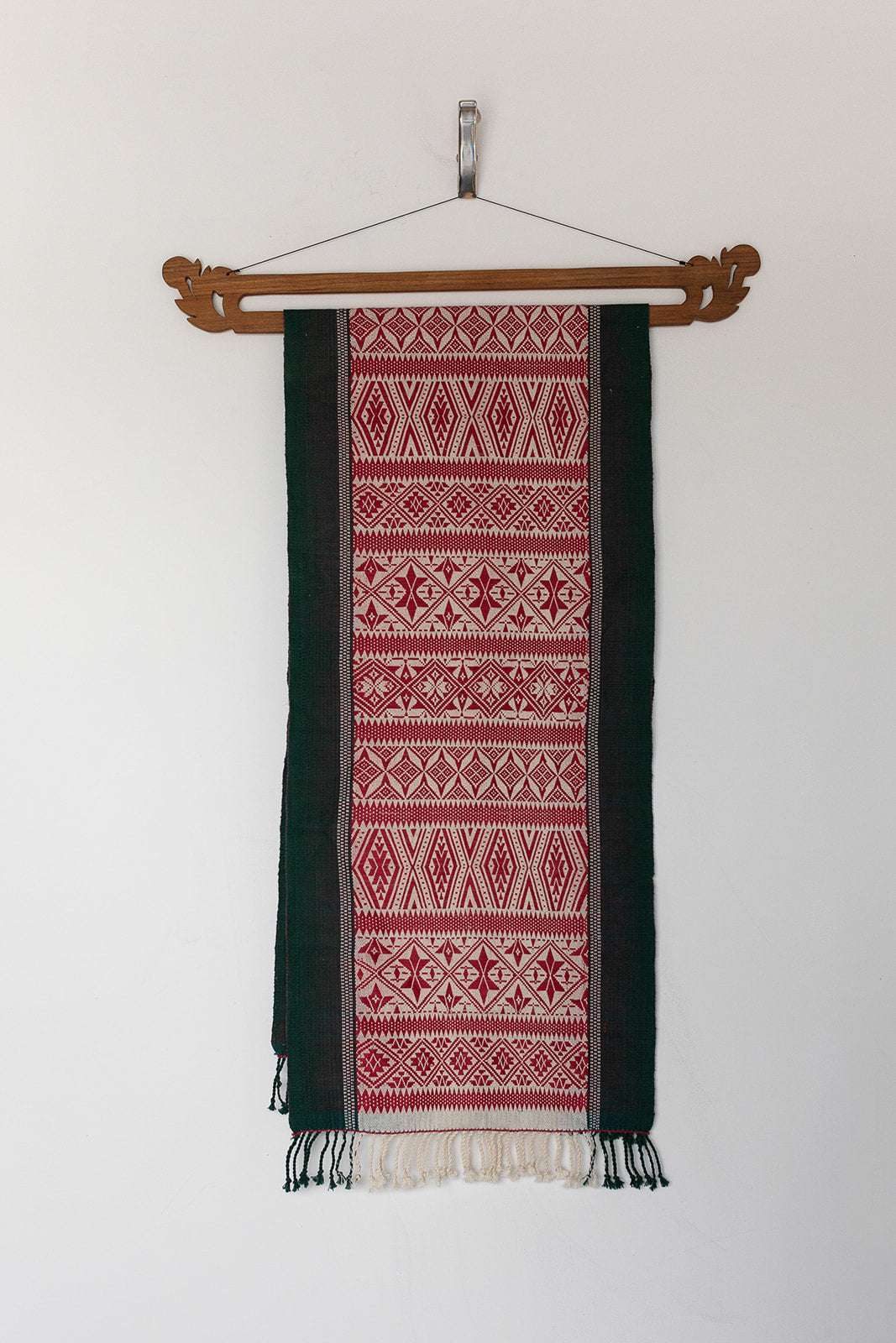 Red & Green Weaving