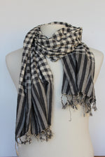 Load image into Gallery viewer, Cotton Check  Krama Scarf