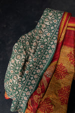 Load image into Gallery viewer, Large Sari Blanket 18