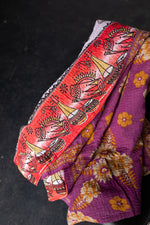 Load image into Gallery viewer, Small Sari Blanket  28