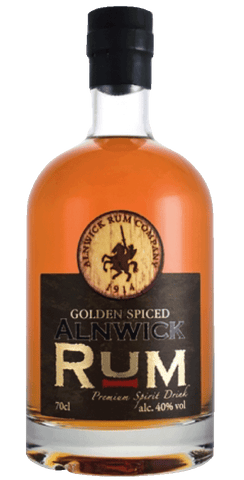 Alnwick Rum - Golden Spiced 70cl