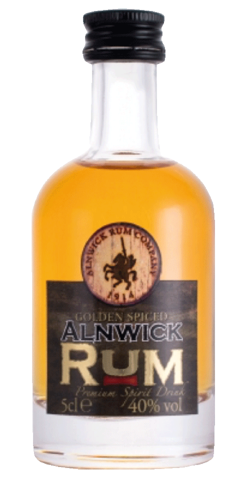 Alnwick Rum - Golden Spiced 5cl
