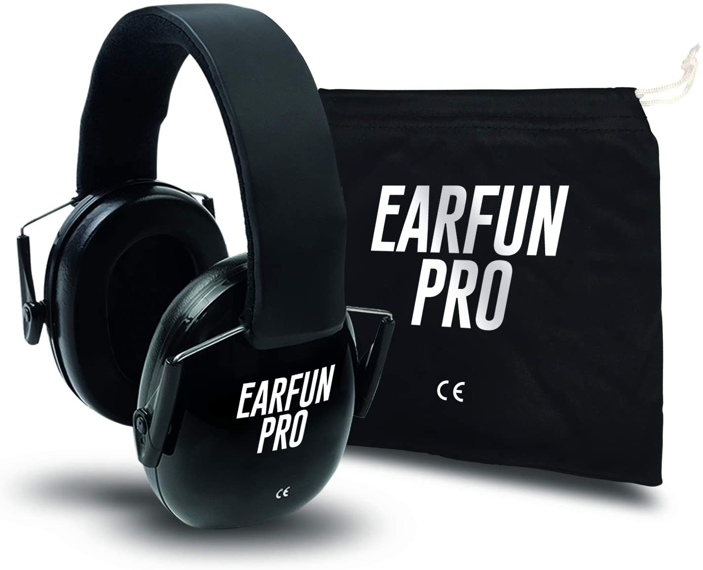 ACOUFUN PROTECTION CASQUE ANTI BRUIT ACOUFUN PRO HP25BK