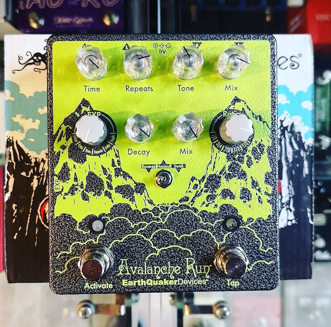 EarthQuaker Devices Avalanche Run Ryo Delay & Reverb Guitar Effect Pedal - 400 Ex limited Edition 2020