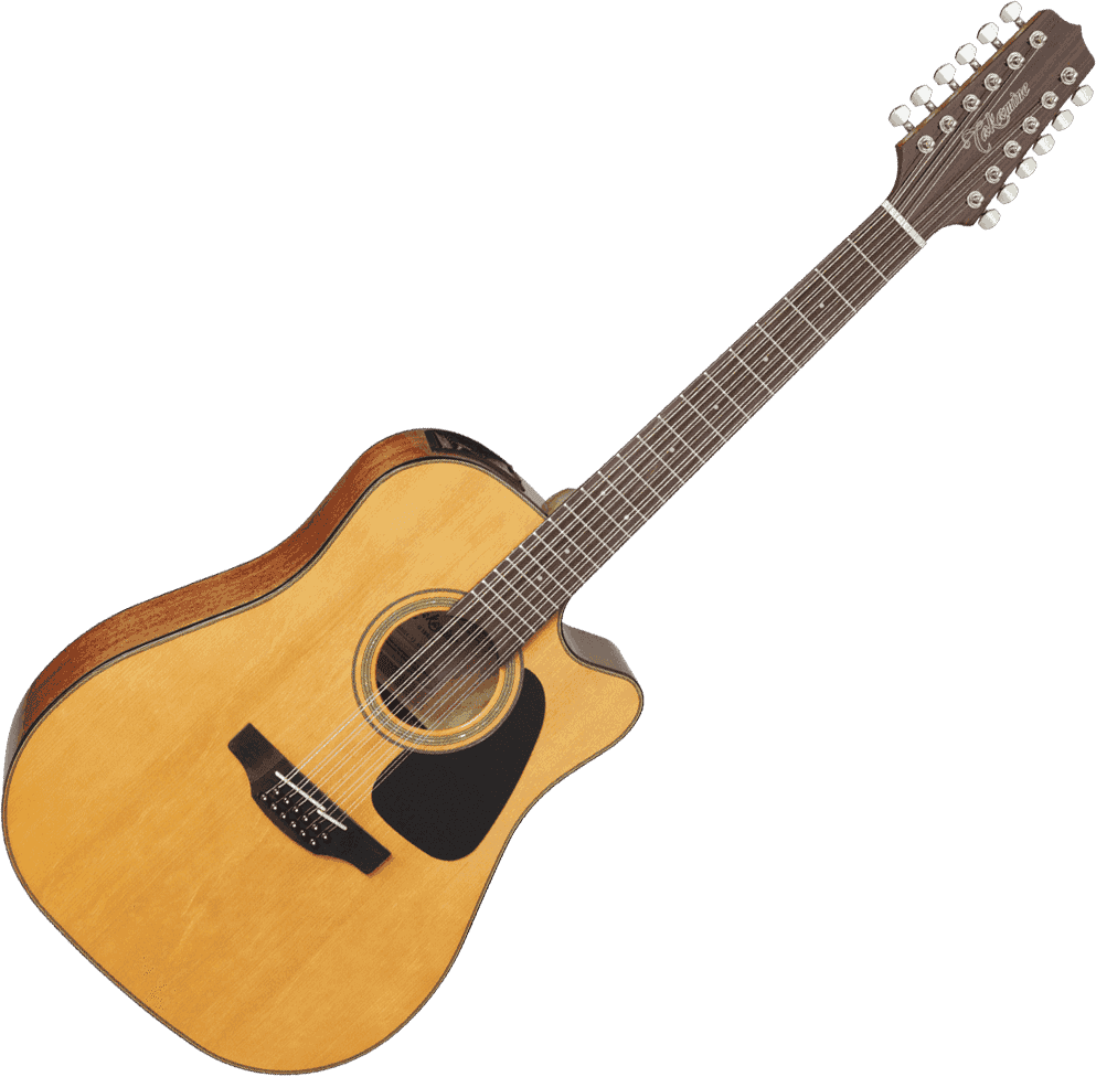 TAKAMINE GD30CE 12NAT 30  Dreadnought Cutaway Electro 12 Cordes