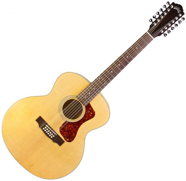GUILD F 2512E GUITARE E.A FOLK 12 CORDES+ HOUSSE