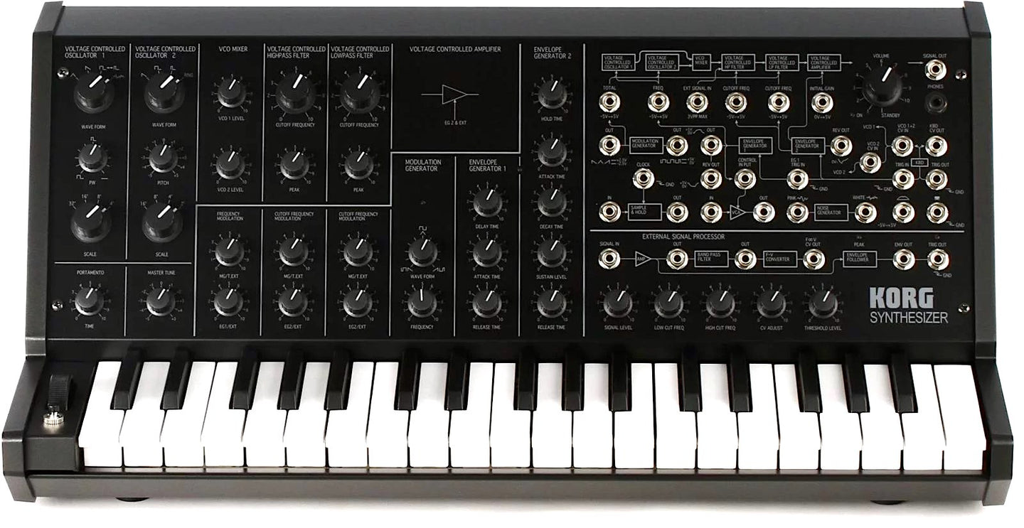 KORG  MS20-MINI Synthetiseur Analogique, 37 notes