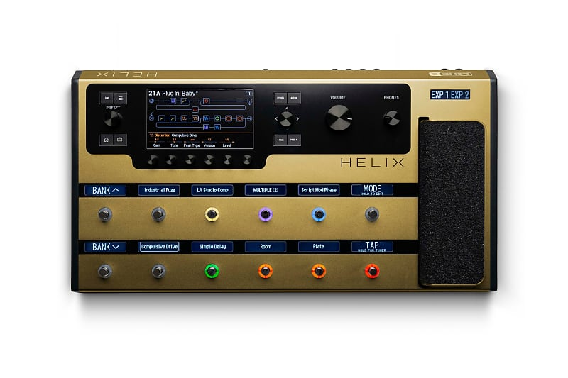 LINE6 Helix Floor GOLD Limited Edition