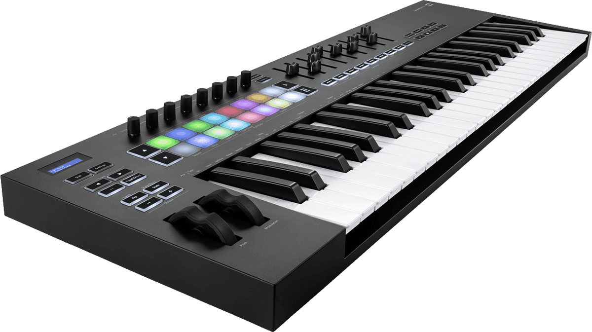 Novation LAUNCHKEY-49-MK3 -Clavier49 notes, 16 pads