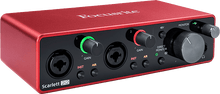 Charger l'image dans la galerie, Focusrite SCARLETT3 2I2 Interface Scarlett G3 - 2 in/2 out USB-C