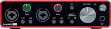 Charger l'image dans la galerie, Focusrite SCARLETT3 2I2 STUDIO Interface Scarlett G3- 2 in/2 out USB-C micro casque & accessoires