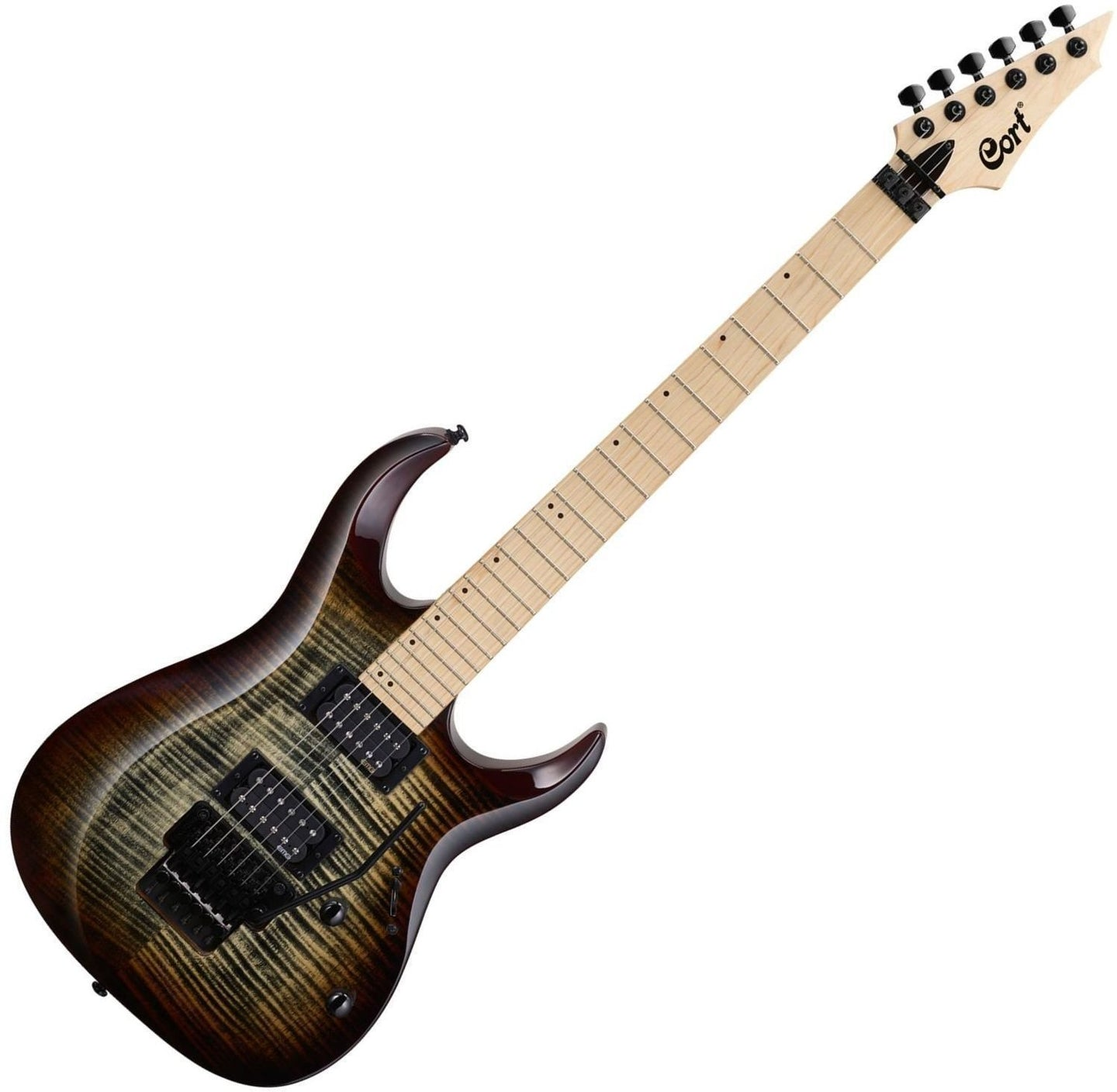 CORT guitare Electrique X300 BROWN BURST X300 BRB