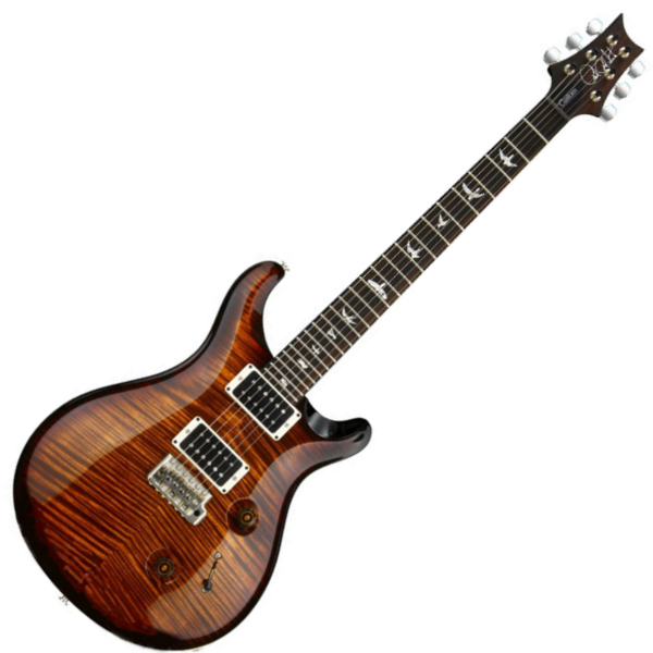 PRS SE Custom 24 Black  Gold Sunburst - 647577