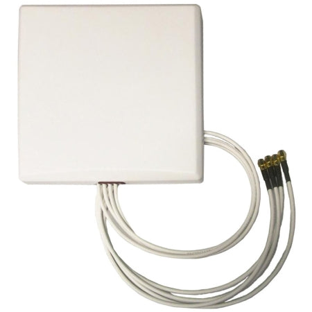 2.4/5GHz 6dBi Wi-Fi Patch Antenna with 4 RPSMA Connectors