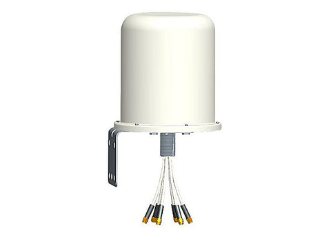2.4/5GHz 6dBi Wi-Fi Omni Antenna with 6 RPSMA Connectors