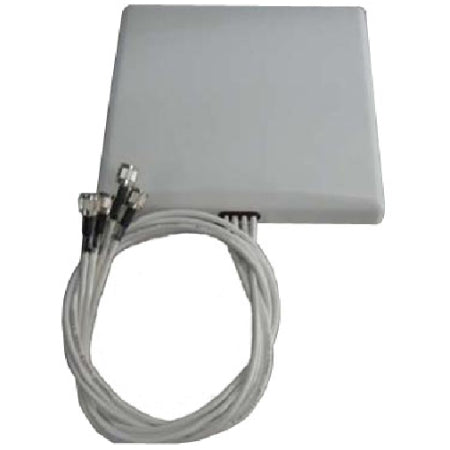 2.4/5GHz 4dBi Wi-Fi Patch (H:60/45/V:50/35) Antenna with 4 RPTNC Connectors