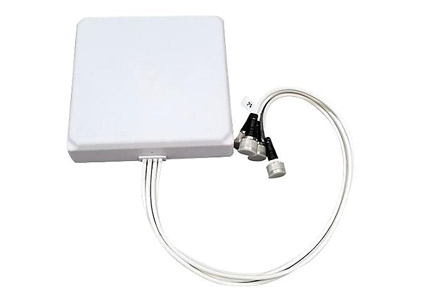 2.4/5GHz 8/6.5dBi Wi-Fi Patch (H:60/65/V:65/70) Antenna with 4 N-Style Connectors