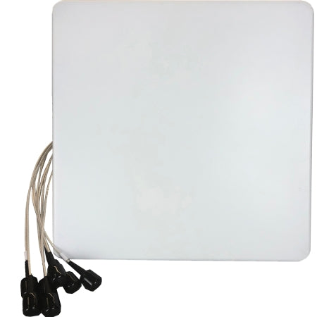 2.4/5GHz 6dBi Wi-Fi Directional (H:65/60/V:65/55) Antenna with 8 RPSMA Connectors