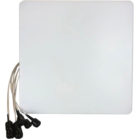 2.4/5GHz 8.5dBi Wi-Fi Directional (H:70/56, V:70/56) Antenna with 6 RPSMA Connectors