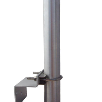 Antenna Pole Mounting Assembly