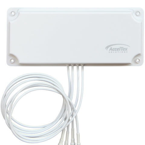 2.4/5 GHz 6 dBi 4 Element Indoor/Outdoor Patch Antenna with RPTNC