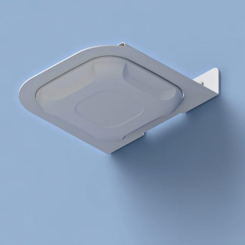Right-Angle Wi-Fi Access Point Wall Bracket for Cisco 2600, 2700, 3500, 3600, & 3700 Series APs