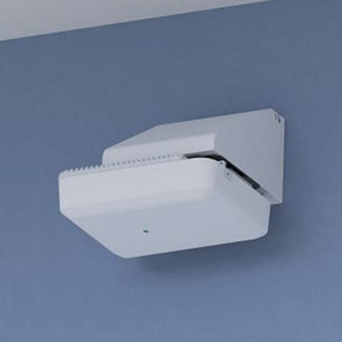 Right-Angle Wi-Fi Access Point Wall Mount for Most AP Models, White