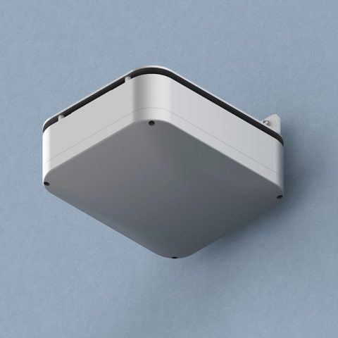 13.4 in. Skybar™ NEMA-4 Plastic Wi-Fi Access Point Enclosure with Opaque Screw-on Cover & Right-Angle Mounting Bracket Accessory