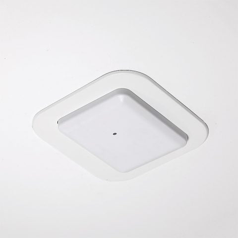 Recessed Wall & Hard-Lid Ceiling Access Point Installation Kit for New Construction, 11 x 11 x 3 in. Back Box, Spring-Attached Cisco 4800 Series Trim