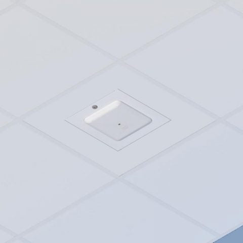 Locking Suspended Ceiling Tile Access Point Enclosure, 12.5 x 12.5 x 3 in. Back Box, Cisco 2800/3800 Series Door