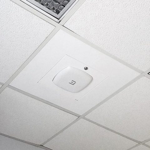 Locking Suspended Ceiling Tile Access Point Enclosure, 12.5 x 12.5 x 3 in. Back Box, Extreme 3935 Series Door