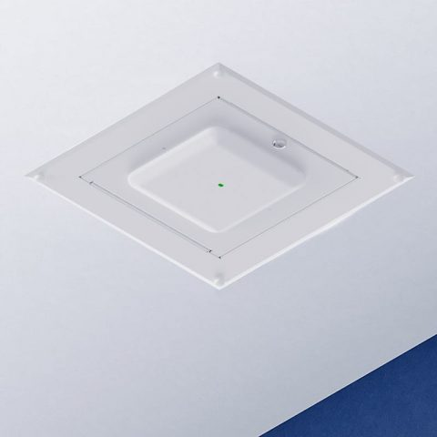 Locking Recessed Wall & Hard-Lid Ceiling Access Point Enclosure, 23.75 x 23.75 x 4.5 in. Back Box, Cisco 2600/2700/3500/3600/3700 Series Door
