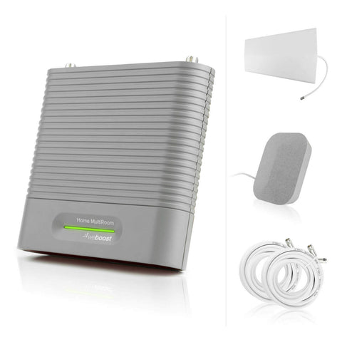 Home MultiRoom Cell Signal Booster Kit, 65 dB Gain