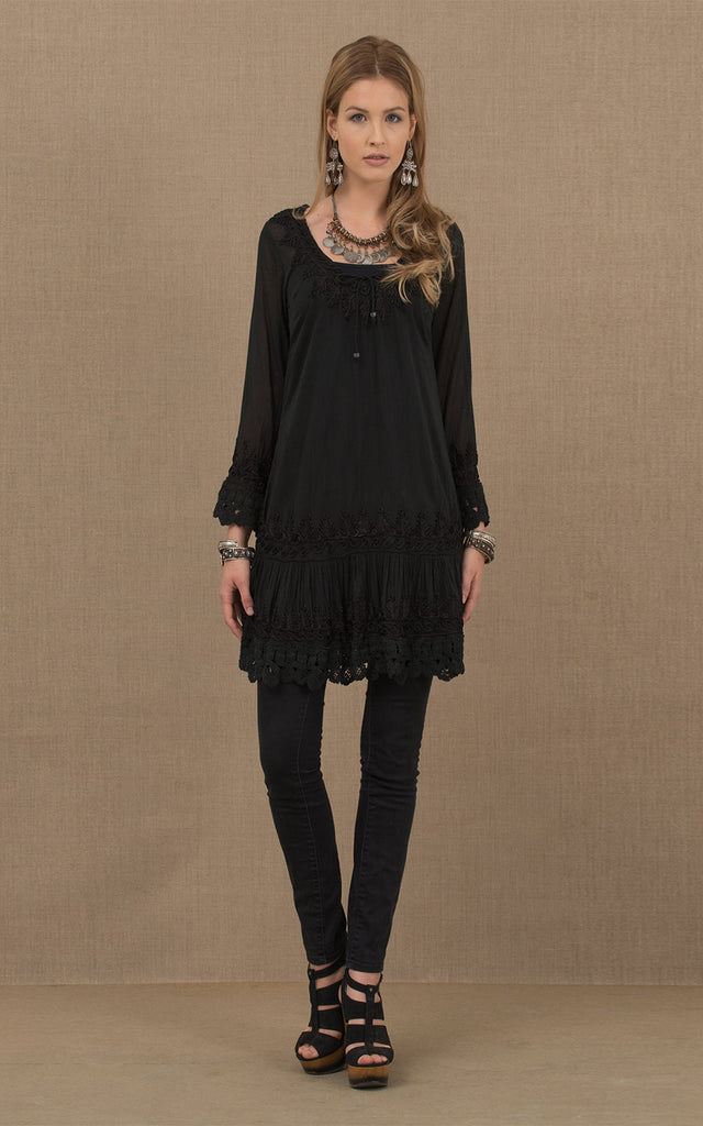 Gitana Tunic Black