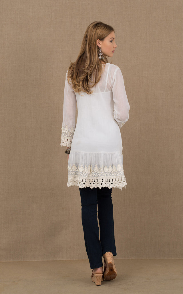 Gitana Tunic White