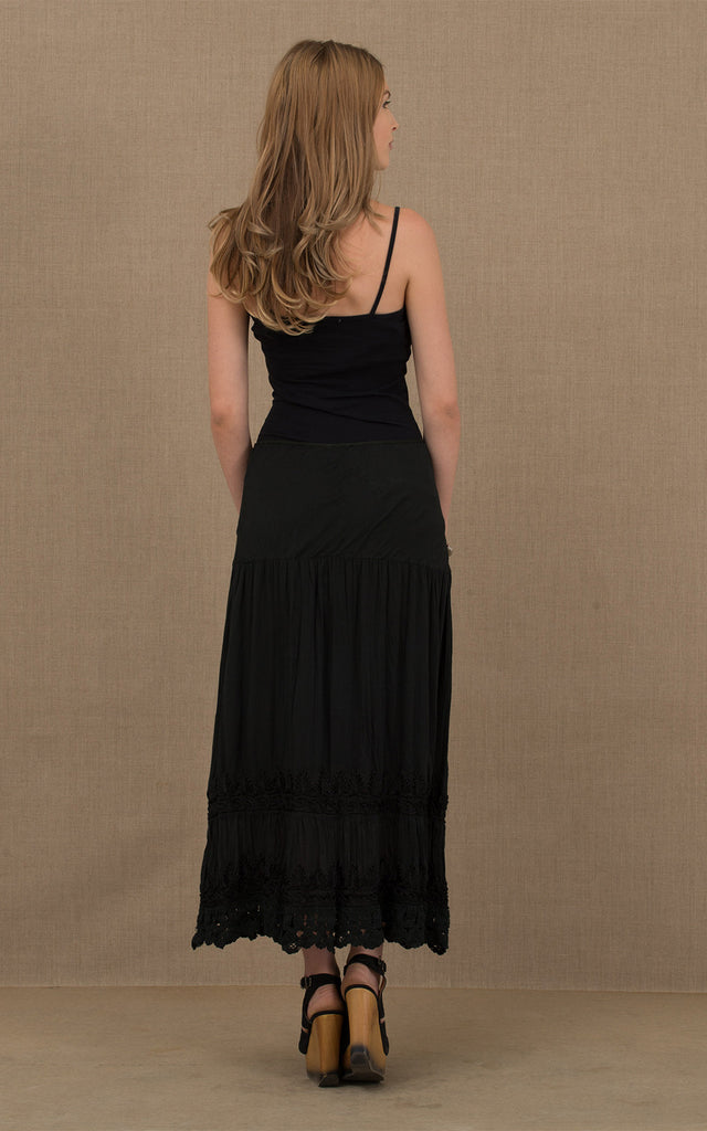 Gitana Skirt Black