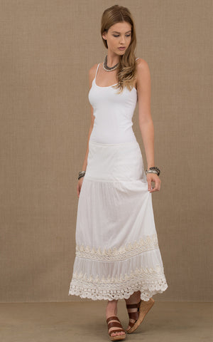 Gitana Skirt White